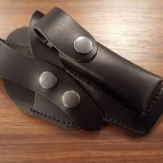 Autoaparare - Toc piele cu sector pentru pistol Carpati, ME9, Walther - 25 lei