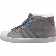 Adidasi Adidas Neo Mens Se Neo Classic Hike Trainers marimea 42 si 43 1/3 - Ghete barbati Adidas, Culoare: Gri, Piele intoarsa