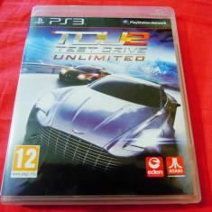 Joc Test Drive Unlimited 2, TDU, PS3, original, alte sute de jocuri! - Jocuri PS3 Codemasters, Curse auto-moto, 12+, Single player