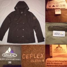 Geaca VAUDE CEPLEX (38) dama jacheta eleganta palton dame membrana impermeabila - Palton dama, Culoare: Din imagine