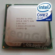 Intel Q9550 Core 2 Quad 2, 83GHz FSB 1333MHZ 12MB skt LGA775 REV 2, Pasta termo - Procesor PC Intel, Intel Core 2 Quad, Numar nuclee: 4, 2.5-3.0 GHz
