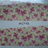Tatuaj transfer pe baza de apa sticker pentru decorare unghii Full Tip C 110 - Unghii modele