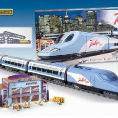 Trenulet Electric Calatori Talgo 350 - Trenulet de jucarie Pequetren
