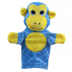 Jucarii plus - A Doua Mea Papusa De Mana - Cimpanzeu - The Puppet Company