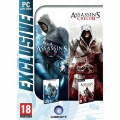 Assassins Creed And Assassins Creed 2 Pack Pc - Jocuri PC Ubisoft