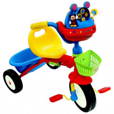 Tricicleta Pliabila Interactiva Mickey Mouse Kiddieland - Tricicleta copii