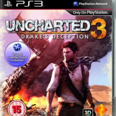 Uncharted 3: Drake's Deception Ps3 - Jocuri PS3 Sony
