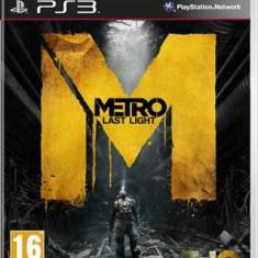 Metro Last Light Ps3 - Jocuri PS3 Thq