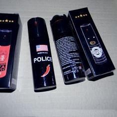 Spray Autoaparare POLICE. Made in SUA. Spray PARALIZANT 60 ml. Ardei iute