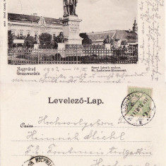 Oradea -clasica - Carte Postala Crisana pana la 1904, Circulata, Printata