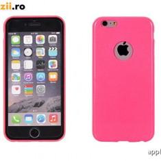 Husa iPhone 4 4S TPU 0.3mm Pink, Roz, Gel TPU, Carcasa, Fara snur