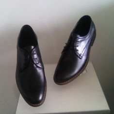 Pantofi barbati, Piele naturala - PANTOFI BARBATESTI TIP ZARA CASUAL ELEGANTI DIN PIELE NATURALA