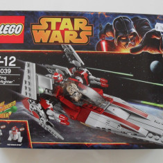 Vand Lego Star Wars 75039 V-Wing Starfighter, nou, original, 201 piese, 7-12 ani, 6-10 ani