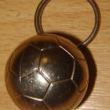 Metal/Fonta - Breloc chei Fotbal din metal