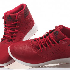 Ghete barbati - Ghete Adidas D. Rose Lakeshore Boost All Red