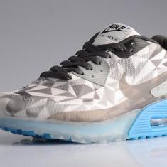 Adidasi barbati - Adidasi Nike Air Max 90 Ice Wolf Grey