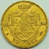 ticuzz - Romania 20 Lei 1890 - moneda de aur