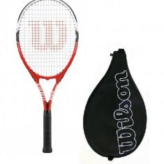 RACHETA ORIGINALA WILSON NOUA + HUSA - Racheta tenis de camp Wilson, Comerciala, Adulti, Aluminiu/Carbon
