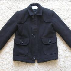 Palton toamna/primavara, Culoare: Negru, Baieti