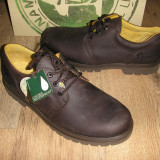 LICHIDARE STOC! Pantofi PANAMA JACK noi piele waterproof DOAR Sz. 49 ! - Pantofi barbati, Culoare: Coffee, Piele naturala