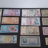 Colectie bancnote si monede - straine si romanesti, An: 1900