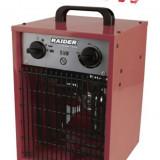078803-Aeroterma industriala patrata 5 KW Raider Power Tools, Numar trepte caldura: 3