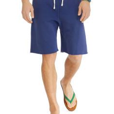 Pantaloni trening Ralph Lauren Lightweight Fleece Short masura S M L - Bermude barbati Ralph Lauren, Culoare: Albastru, Bumbac