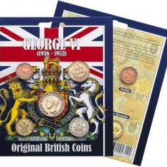 ANGLIA/GB/ PACHET COLECTIE MONEDE GEORGE VI, Europa