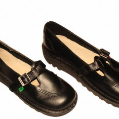 Incaltaminte dama - Pantofi Kickers, piele naturala, marime 38 calapod ingust