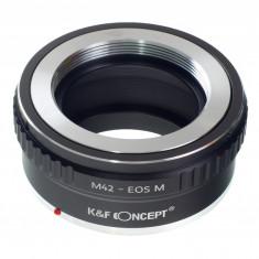 Adaptor aparat foto - Kent Faith M42-EOS M adaptor montura M42 la EOS M