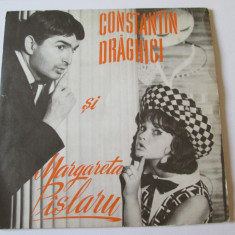 VINIL SINGLE MARGARETA PISLARU SI CONSTANTIN DRAGHICI FESTIVALUL MAMAIA 1965 - Muzica Pop electrecord