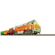Trenulet de jucarie - Trenulet Electric Cargo cu Macheta