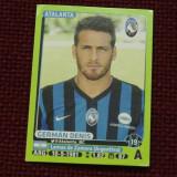 cartonas / Sticker fotbal - German Denis / Atalanta - Calciatori 2014 - 2015