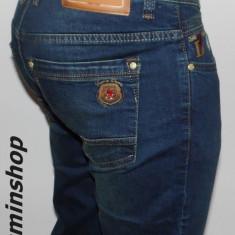 Blugi DSQUARED - Model Conic - NOUA COLECTIE !!! - Blugi barbati, Marime: 33, 34, 38, 40, Culoare: Albastru, Lungi, Prespalat, Slim Fit