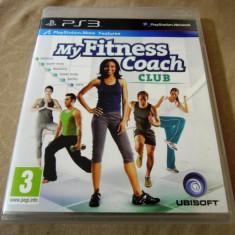 Joc My fitness Couch Club, PS3, original, 34.99 lei! - Jocuri PS3 Ubisoft, Sporturi, 3+, Single player