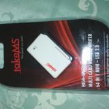 Cardreader 64 in 1 TakeMS USB 2.0 sigilat! - Cititor carduri