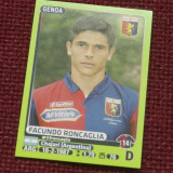 Cartonas / Sticker fotbal - Facundo Roncaglia / Genoa - Calciatori 2014 - 2015 - Cartonas de colectie