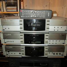 Vand linie GRUNDIG Fine Arts IR compusa din 3 piese ( optional telecomanda) - Combina audio, Separate, 41-80 W