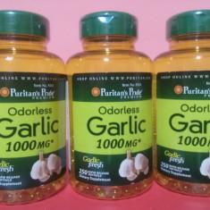 GARLIC, extract usturoi, 1000 mg, 250 capsule moi, cel mai bun pret in Romania! - Supliment nutritiv