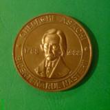 Medalii Romania, An: 1988 - Medalie Bicentenarul GHEORGHE ASACHI, fondatorul scolii in limba romana