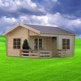 Casa de vanzare, Numar camere: 2, Suprafata: 24, Suprafata teren: 100 - Case de lemn