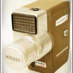 APARAT DE FILMAT JAPONEZ, CAMERĂ VIDEO - MIKADO 8 REFLEX ZOOM - VECHE - 1964! - Aparat Filmat