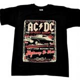 Tricou AC/DC - Hyghway To Hell - Speed Shop - Tricou barbati, Marime: S, Culoare: Din imagine