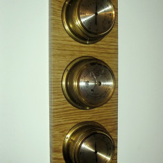 Pendula - Ansamblu Marinaresc, Barometru Termometru Si Higrometru, Germania