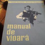 Carte Arta muzicala - MANUAL DE VIOARA VOL 1 EDITIA A II A - IONEL GEANTA SI GEORGE MANOLIU ./TD