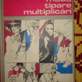 Carte design vestimentar - Moida, tipare, multiplicari (croitorie) an 1986/157figuri/220pag- Petrache Dragu