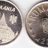 Monede Romania, An: 2016 - LOT/SET 2 b. 50 bani 2016 varianta comemorativa Iancu de Hunedoara si cea comuna