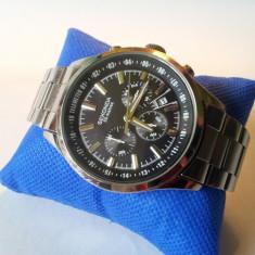 Ceas barbatesc SEKONDA Chronograph cu data 50M, Sport, Quartz, Metal necunoscut, Cronograf