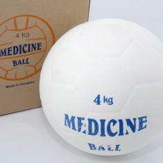 Minge Fitness - Minge medicinala din cauciuc 4 kg - umpluta cu lichid