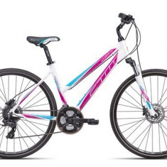 Bicicleta dama CTM Maxima 4.0, 2016, cadru 18